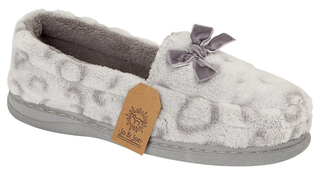 LJ&R - Mabel Grey Slippers