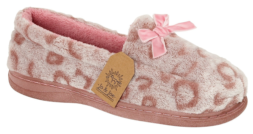 LJ&R - Mabel Pink Slippers