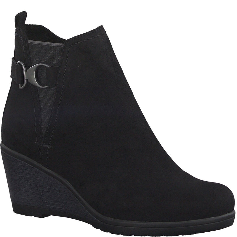 Marco Tozzi - 25042 Black Ankle Boots