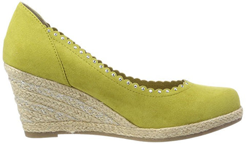 Marco Tozzi - 22414 Lime/Green Suede Wedge Shoes