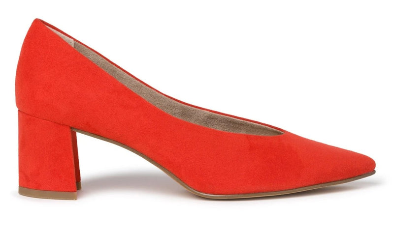 Marco Tozzi - 22416 Fire Red Heels