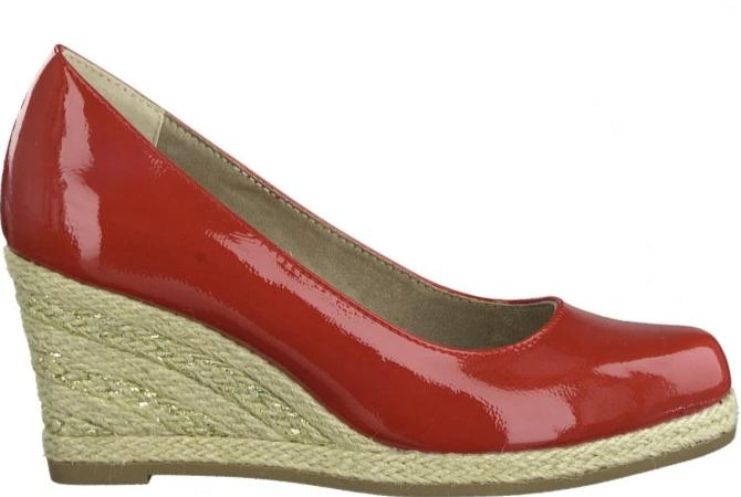 Marco Tozzi - 22440-24 Red Wedges (SS20)