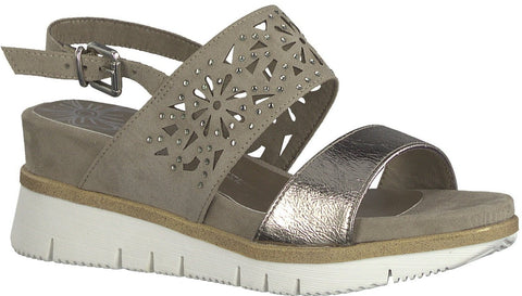 Marco Sandals 28717 Tozzi Taupecomb Purpletag ie 6IYfg7byv