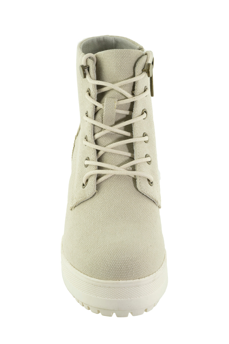 Mustang - 50600 Washed/Canvas Boots