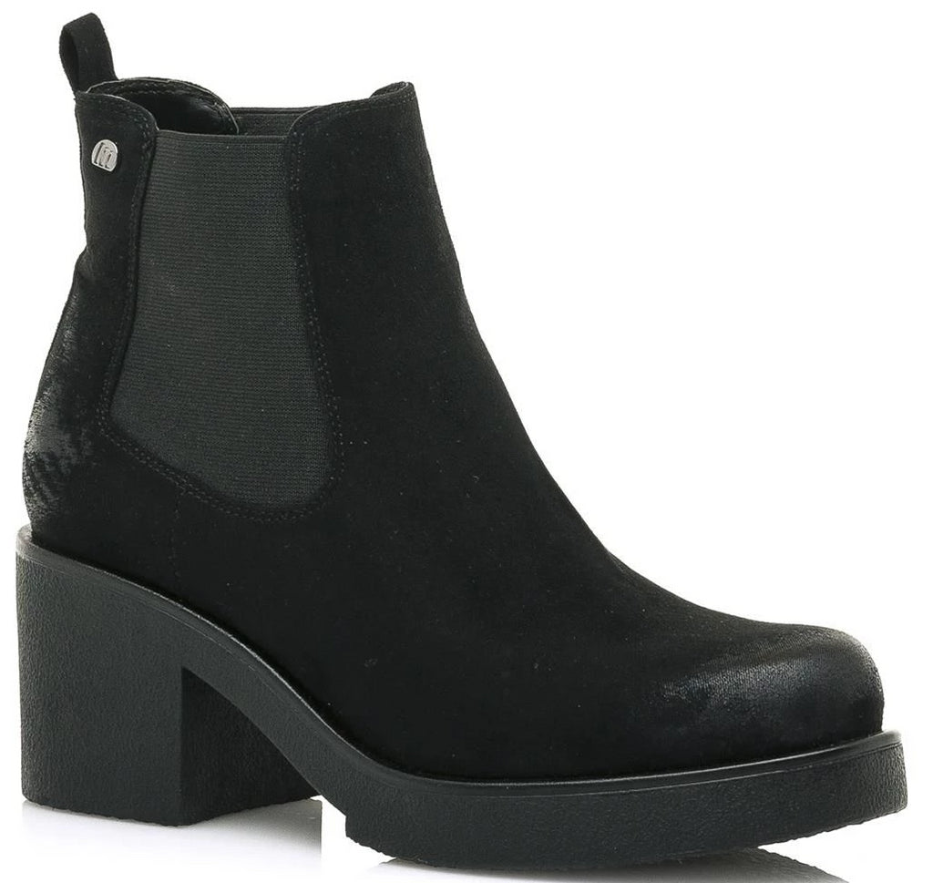 Mustang - 58656 Black Ankle Boots