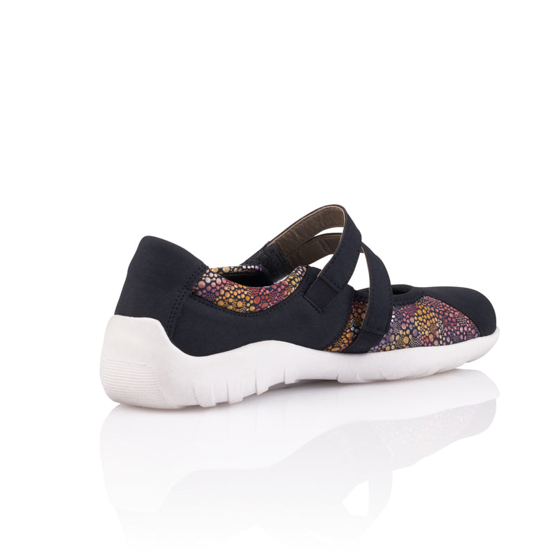 Remonte - R3510 Navy/Flower Shoes