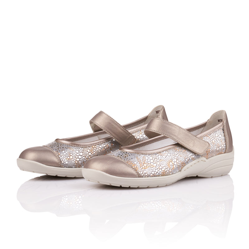 Remonte - R7627 Gold/Multi Shoes