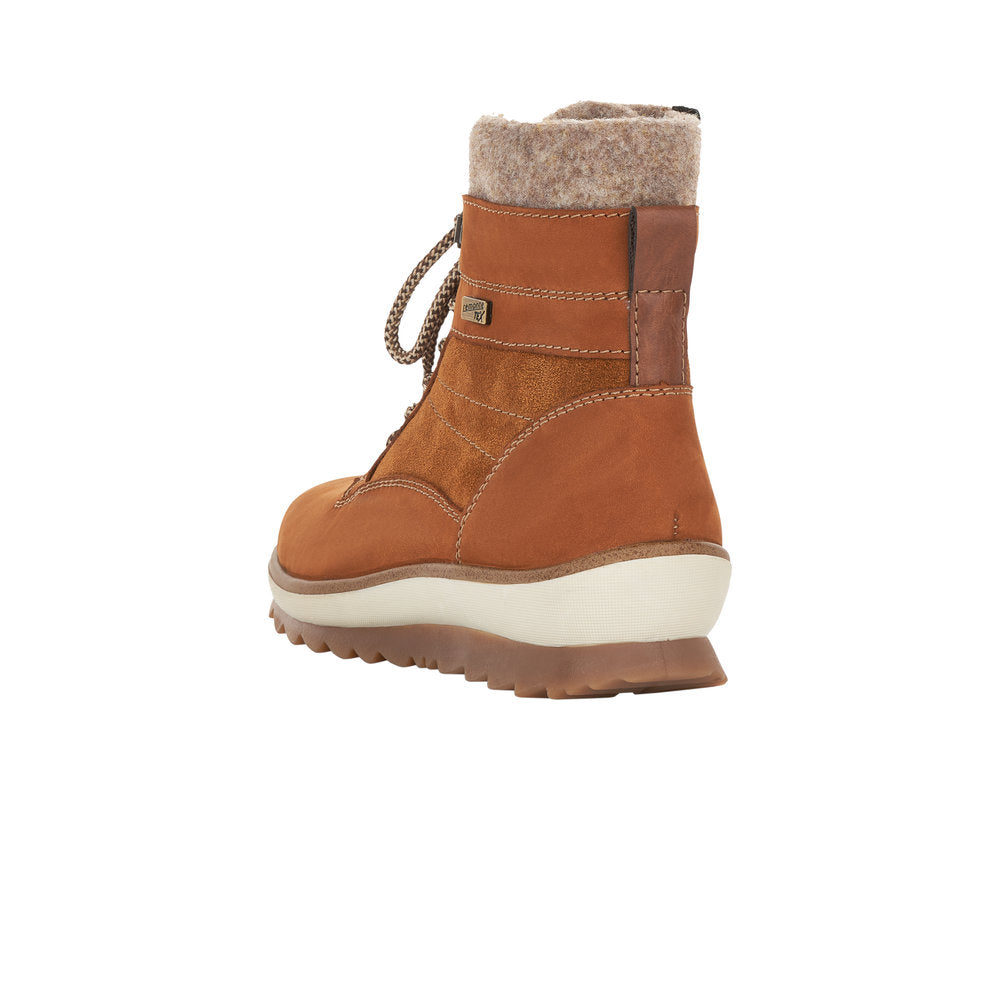 Remonte - R8477 Chestnut Tan Ankle Boots