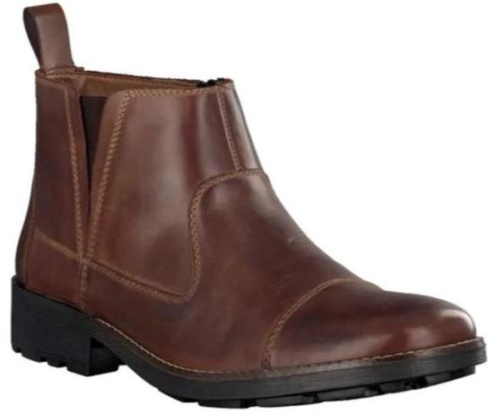 Rieker - 36050 - Brown Slip-on Ankle Boots