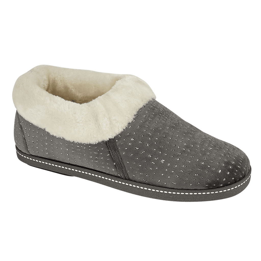 LJ&R - Rosella Grey Slippers