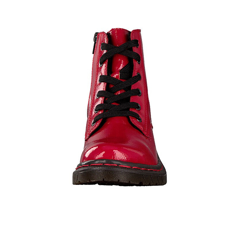 Rieker - 76240 Red Ankle Boots