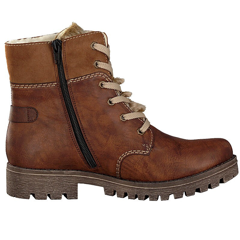 Rieker - 785G1 Brown Ankle Boots