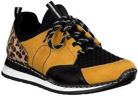 Rieker - N3083 Yellow/Black Runners