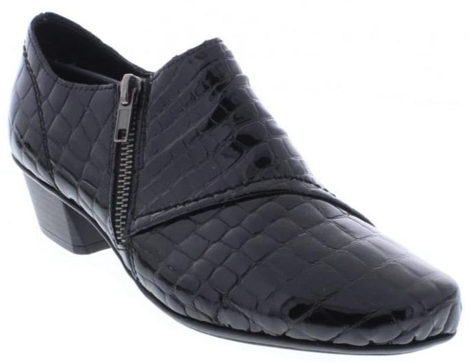 Rieker - 53851 Black Shoes