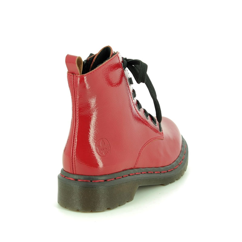 Rieker - Y8210 Red Ankle Boots