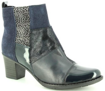 Rieker - Z7686 Navy Ankle Boots