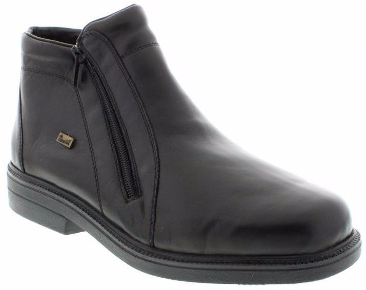 Rieker - 37460 - Black Mens Shoes