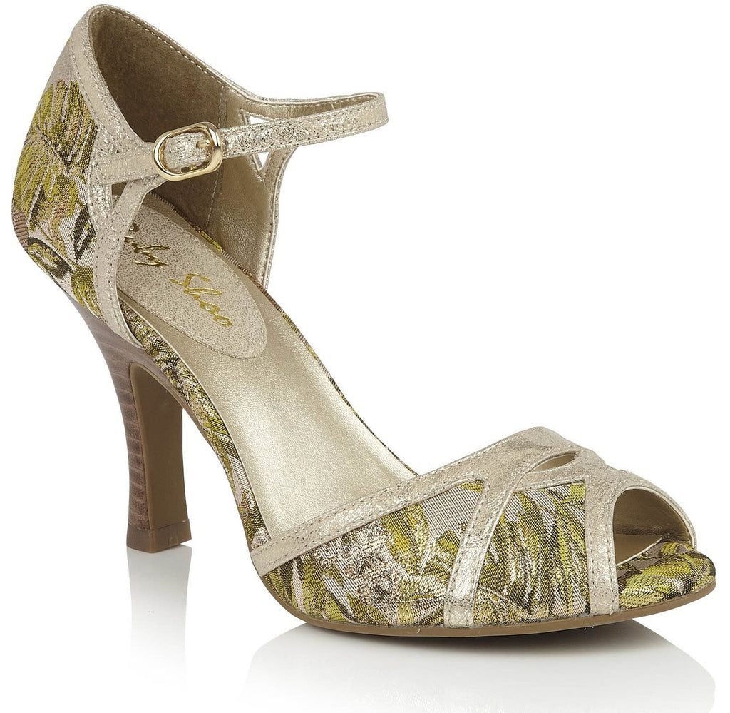 Ruby Shoo - Eliza Green/Gold Shoes