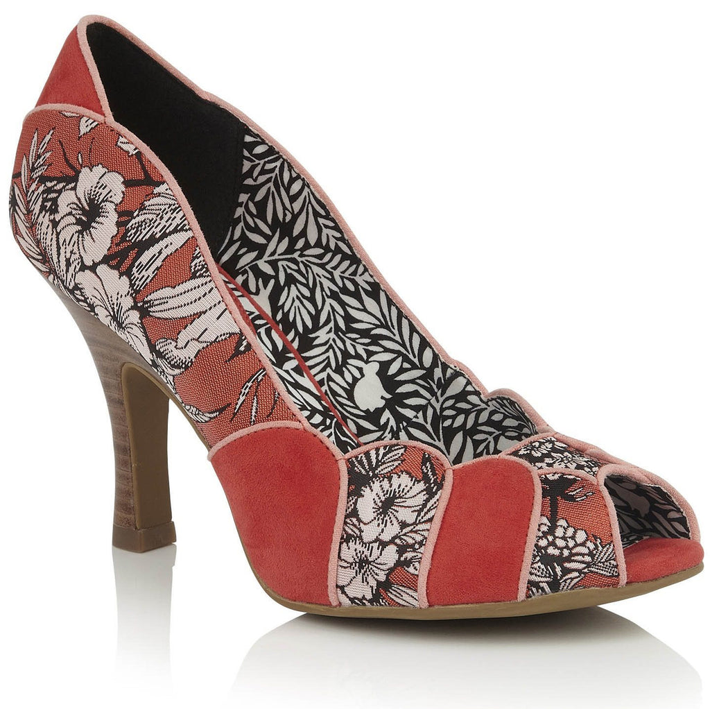 Ruby Shoo - Matilda Burnt Orange Shoes
