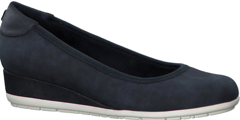 S.Oliver - 22302 Navy Combination Wedges