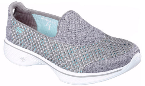 Skechers - Go Walk 4 Kindle (Grey 14145)