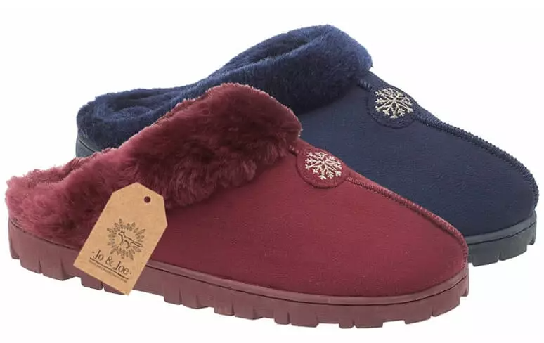 LJ&R - Snuggle Navy Slippers