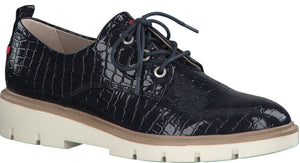 S.Oliver - 23602-26 Navy Patent Shoes