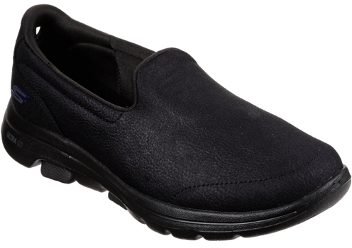 Skechers - Go Walk 5 Black Leather (15948)