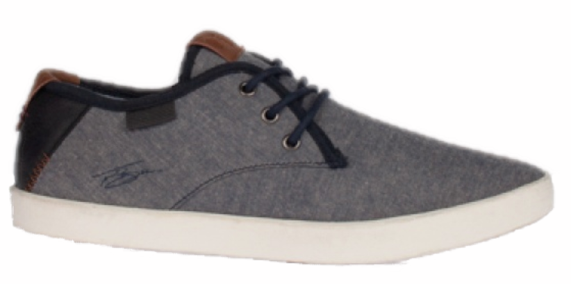 Lloyd & Pryce - Shaw Blue Washed Denim Shoes