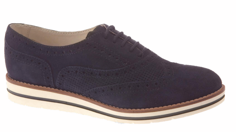 Dubarry - Hattie Navy Suede Shoes