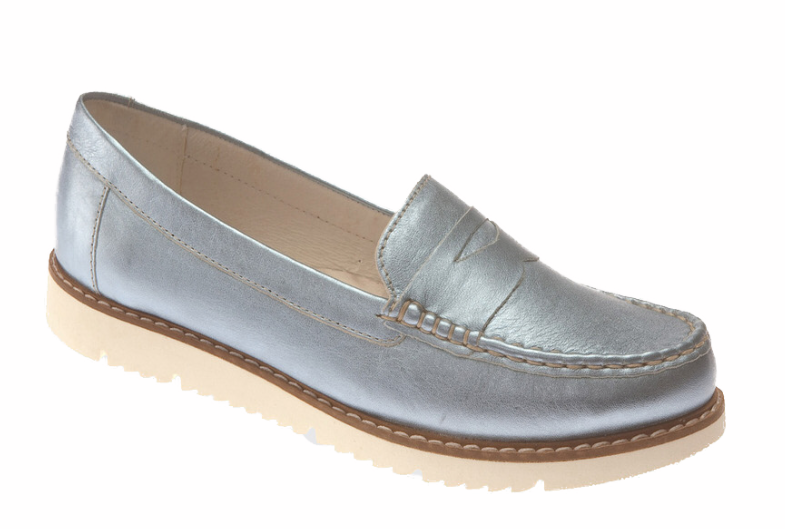 Dubarry - Hachi Blue Metallic Shoes