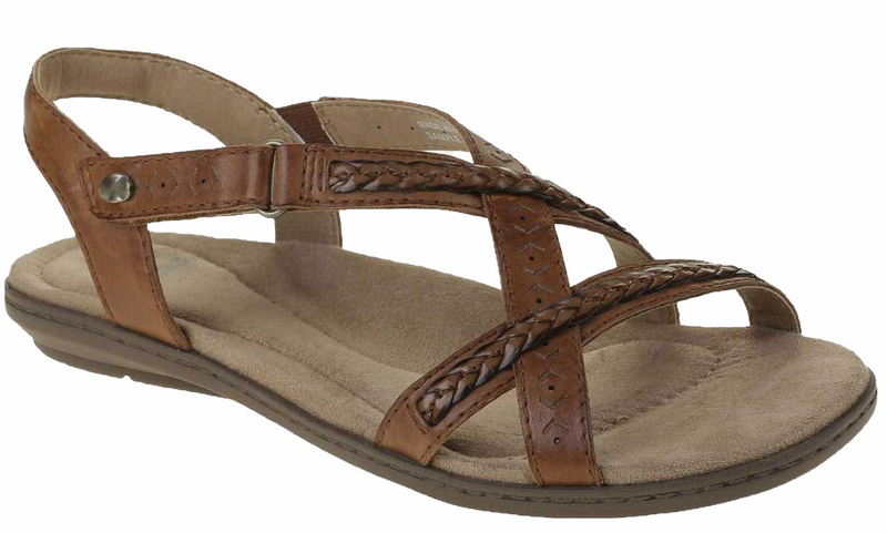 Earth Spirit - Easton Alpaca Tan Sandals