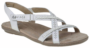 Earth Spirit - Easton White Sandals