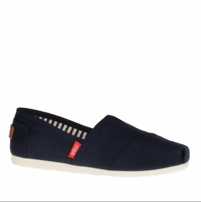 Zanni & Co - Drilley Classic Navy Canvas Shoes (SS20)