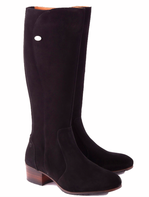 Dubarry - Downpatrick Black Suede Boots