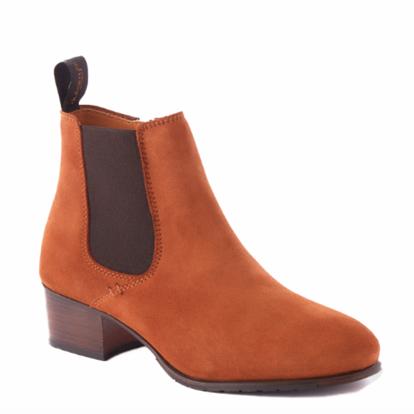 Dubarry - Bray Camel Ankle Boots