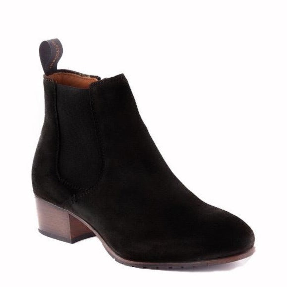 Dubarry - Bray Black Suede Ankle Boots
