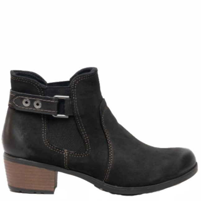 Earth Spirit - El Reno Black Ankle Boots