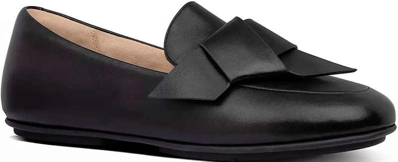 FitFlop - Petrina Loafer Black/Patent Shoes
