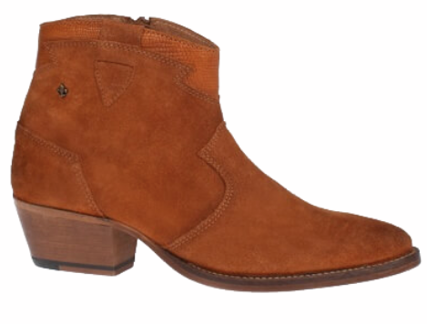 Bourbon Amy Huberman - The More The Merrier Buckskin Tan Ankle Boots