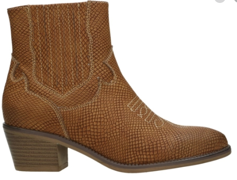 Fabulous Fabs - F72201 Cognac Ankle Boots
