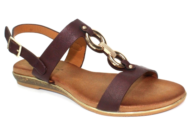 Lunar - Maldives Burgundy Sandals