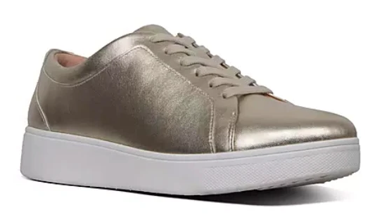 FitFlop - Rally Gold Sneaker Shoes