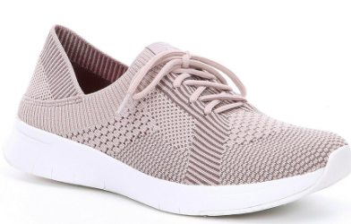 FitFlop - Marble Knit Coral Runners