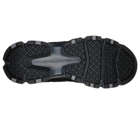 Shechers - Relaxed Fit: Crossbar (51885 Black/Charcoal)