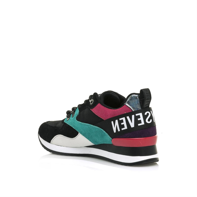 SixtySeven - Black/Multi Runners (30213)