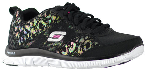 Skechers - Flex Appeal Hollywood Hills (Black/Camo 12199)