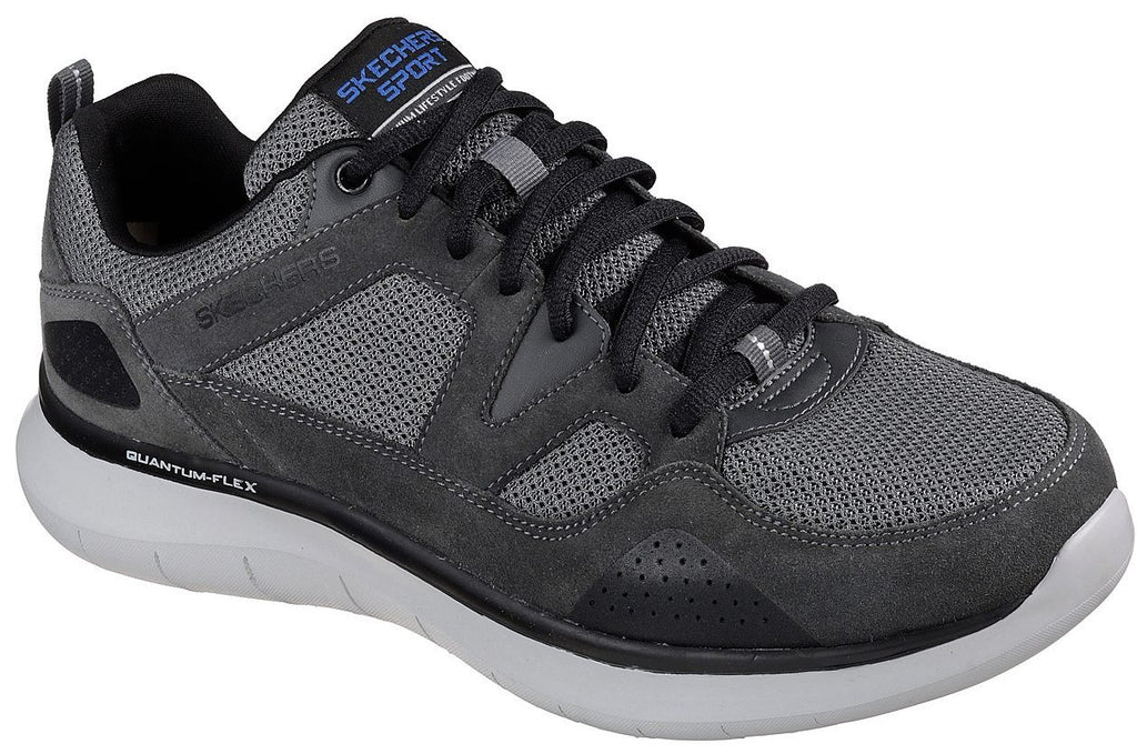 Skechers - Relaxed Fit: Quantum Flex (52905 Charcoal Black)