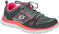 Skechers - Flex Appeal - Spring Fever (Charcoal Hot Pink 11727)