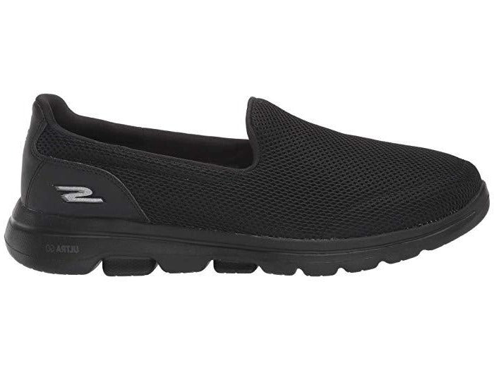 Skechers - Go Walk 5 Black Runners (15901)